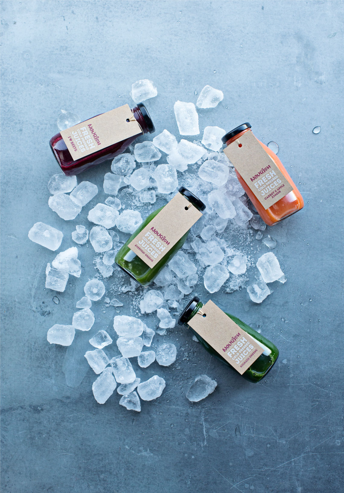 Nourish_Bottles_and_Ice